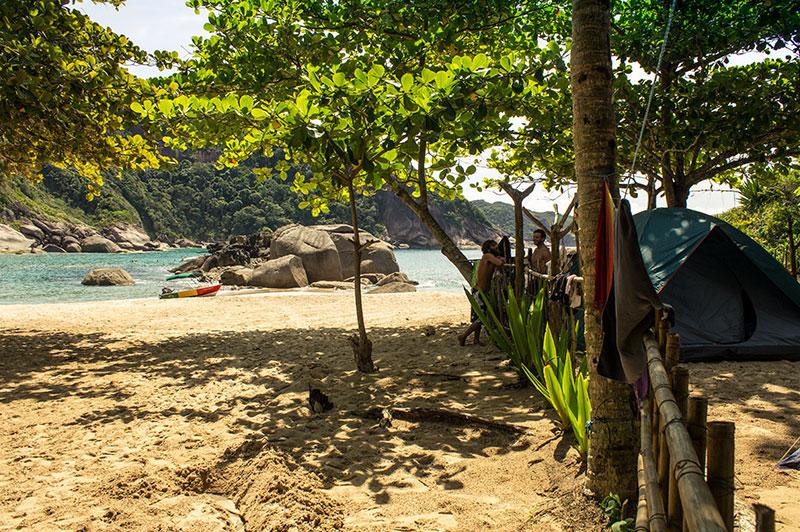 Praia da Sumana - Reserva da Juatinga
