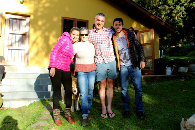 Gisely Bohrer, Adriana, Cavallari e Rafael Kosoniscs