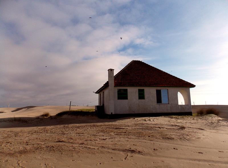 Uma das casas do farol