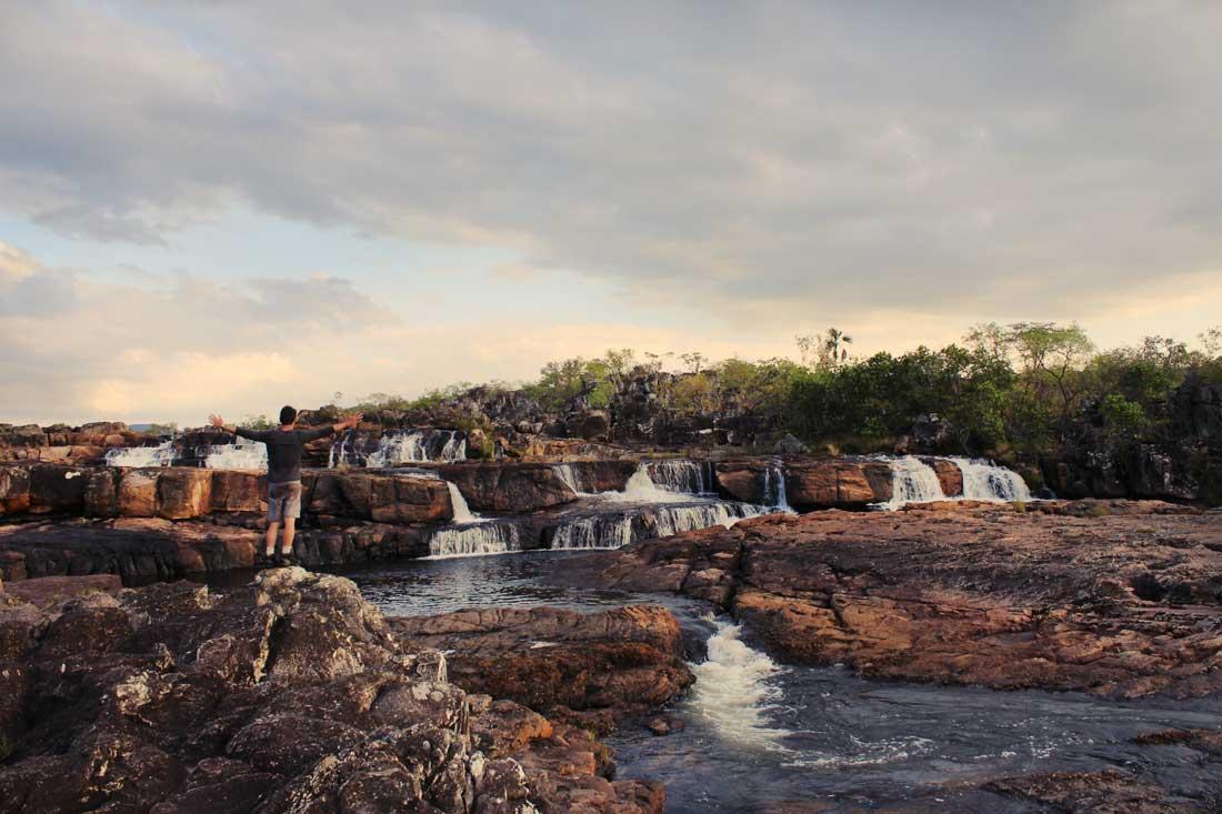 Cachoeira Sete Quedas - Chapada dos Veadeiros