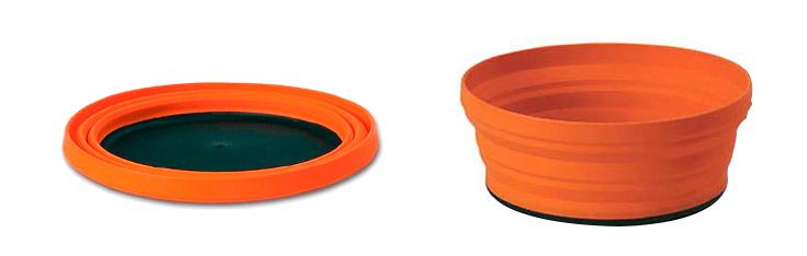 x-bowl - sea to summit - kit de cozinha