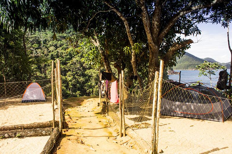 Camping de Cairuçu das Pedras - Juatinga