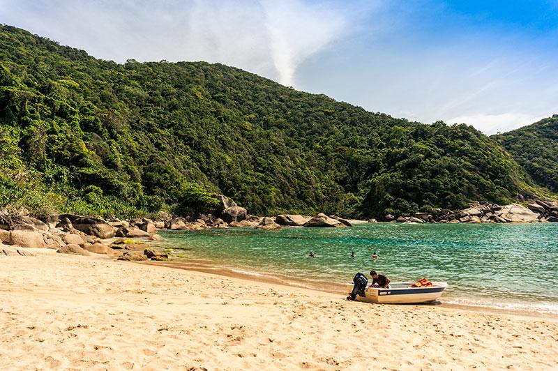 Praia da Sumaca - Reserva da Juatinga