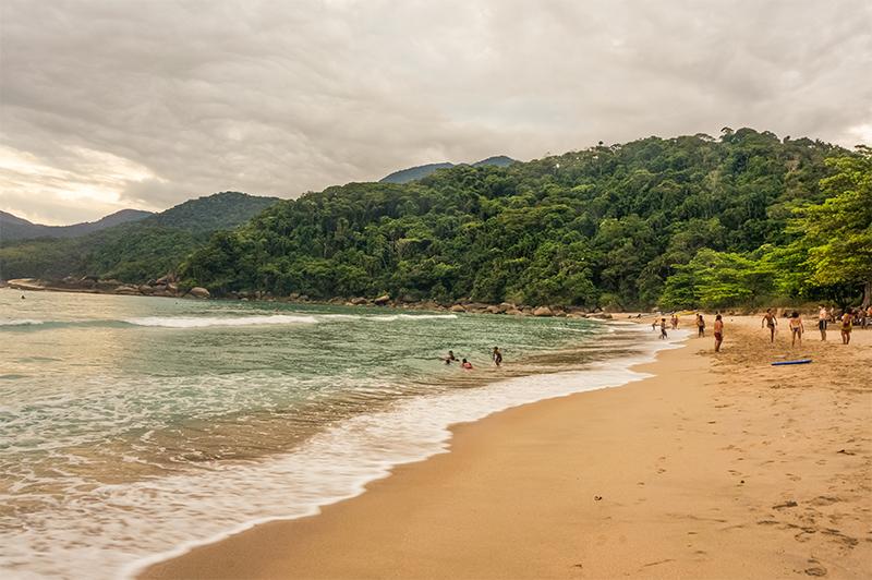 Praia Martim de Sá - Juatinga