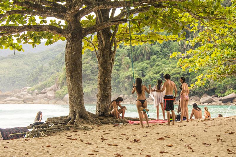 Praia Martim de Sá - Reserva da Juatinga