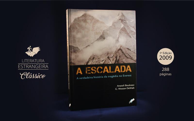 """Livro """"A Escalada"""""""