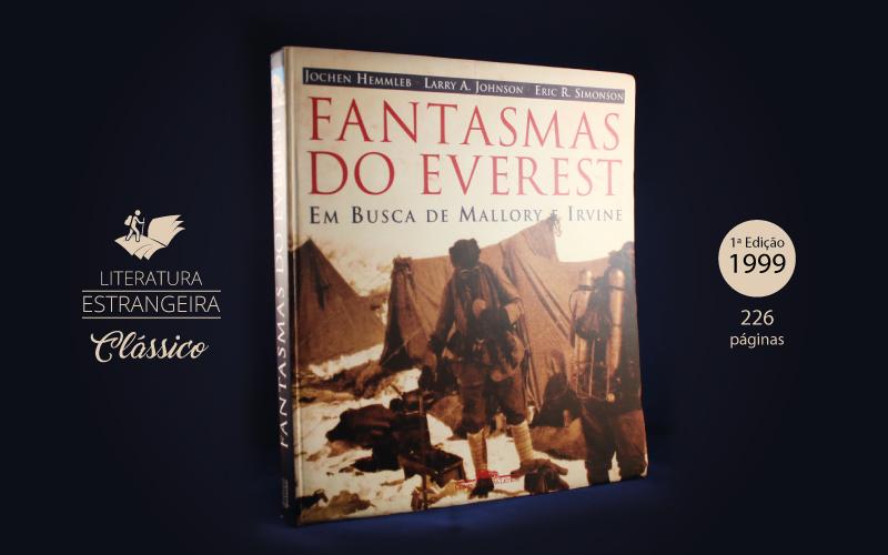"""Livro """"Fantasmas de Everest"""""""