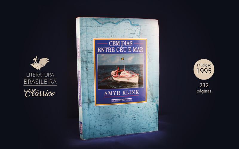 """Livro """"Cem Dias Entre Céu e Mar"""""""