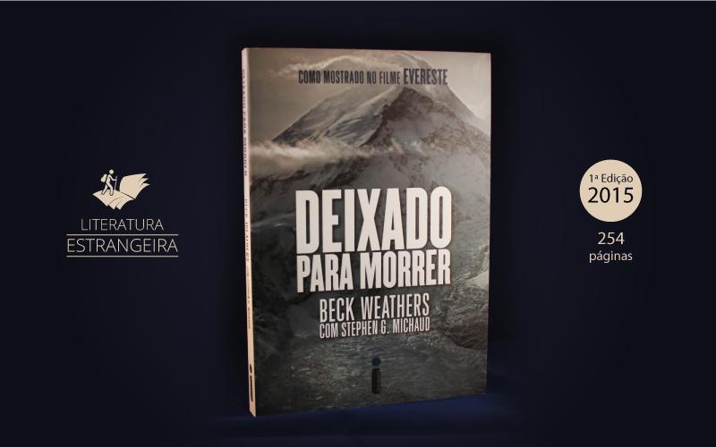 """Livro """"Deixado Para Morrer"""""""