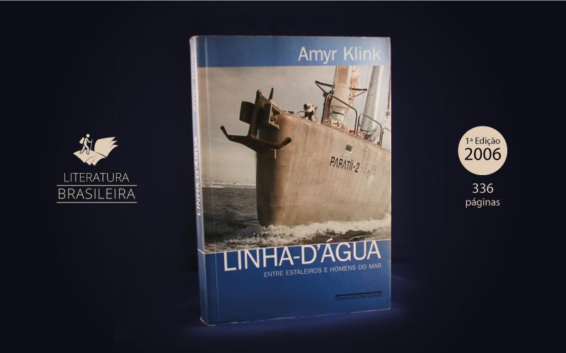 """Livro """"Linha D'Água"""""""