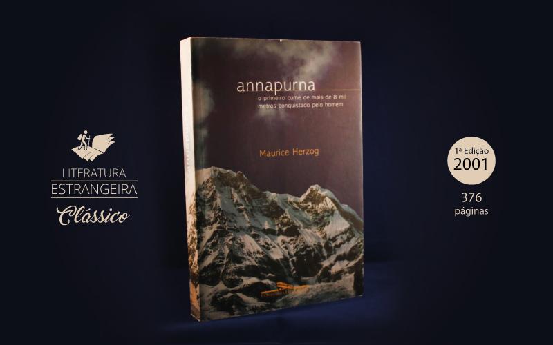 """Livro """"Annapurna"""""""