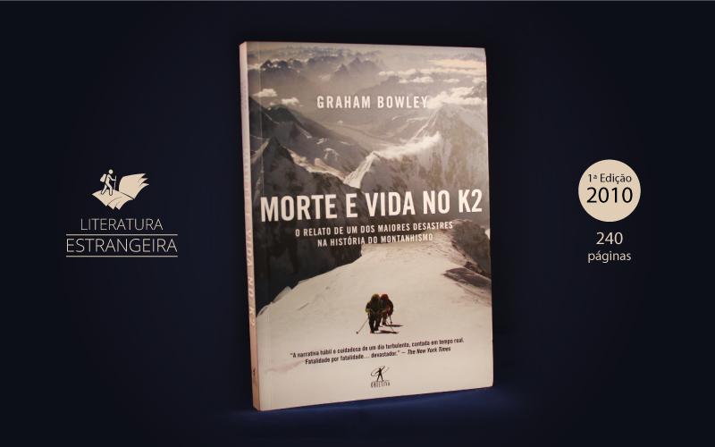 """Livro """"Morte e Vida no K2"""""""