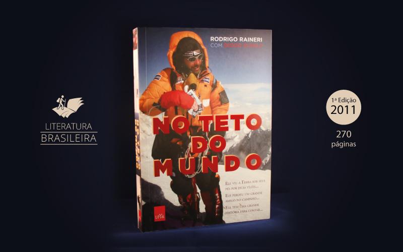 """Livro """"No Teto do Mundo"""""""