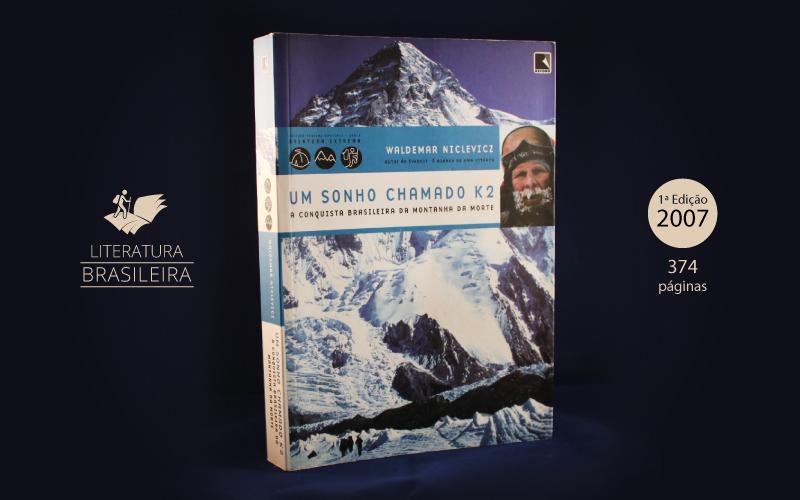 """Livro """"Um Sonho Chamado K2"""""""