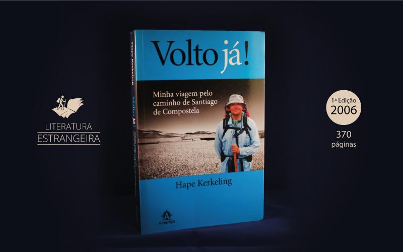"Livro ""Volto Já!"""