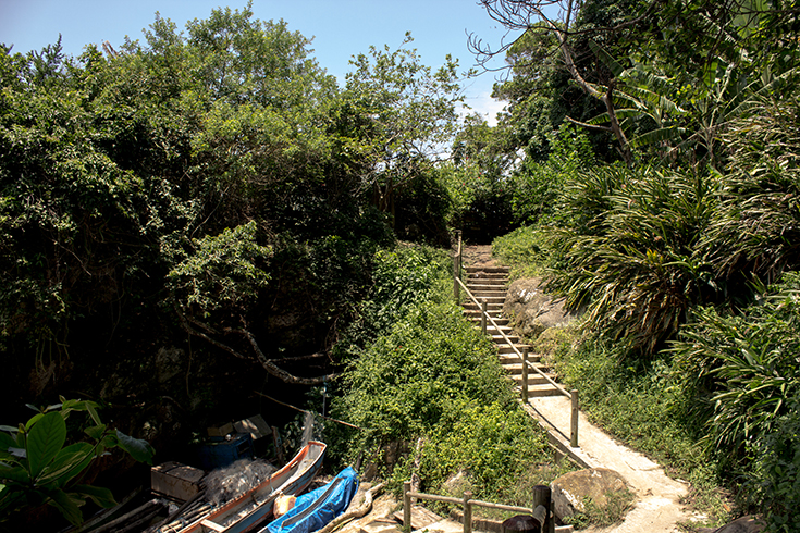 Ponta da Juatinga, a caminho do farol
